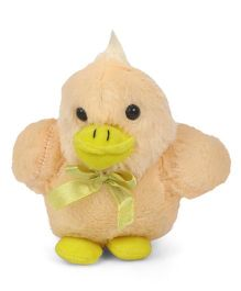 Play Toons Bird Soft Toy Light Yellow - Height - 15 cm