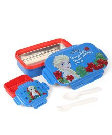 Disney Lunch Box Frozen Print - Blue & Red