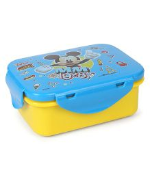 Disney Mickey Mouse And Friends Lunch Box - Blue