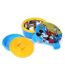 Disney Mickey Mouse & Friends Two Container Lunch Box - Blue Yellow