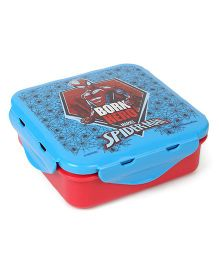 Marvel Lunch Box Spider Man Print - Blue Red