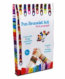 ProjectsforSchool DIY Fun Bracelet Kit - Multicolour
