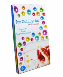 ProjectsforSchool DIY Quilling Kit - Multicolour