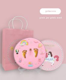 Vismiintrend Clay Handprint & Footprint Kit - Pink