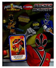 Power Rangers Samurai Bumper Sticker Activity Book - English