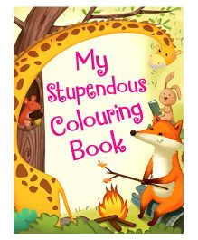 My Stupendous Colouring Book - English