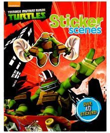 Nickelodeon Teenage Mutant Ninja Turtles Sticker Scenes Book - English