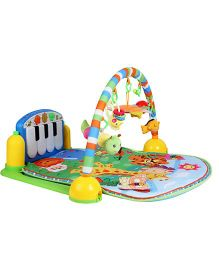My Milestones Musical Piano Activity Play Gym - Blue