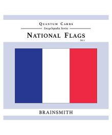 Brainsmith Quantum National Flags Set 1 Flash Cards - 10 Cards