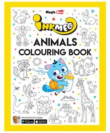 Inkmeo Animals Colouring Book - English