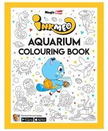 Inkmeo Aquarium Colouring Book - English