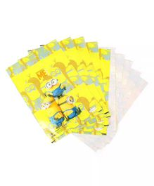 Funcart Minions Single Side Print Loot Bag Yellow - Pack of 10