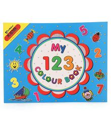 Archies Number Colouring Book - English