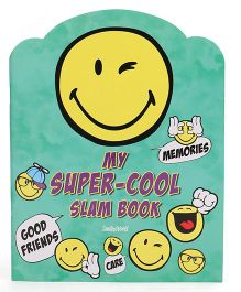 Archies Slam Book Emoji Print - English
