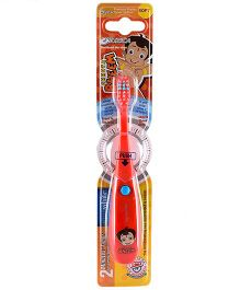 aquawhite Chhota Bheem Battery Operated Musical Toothbrush - Red