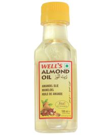 Well's Refined Almond Oil - 100 ml