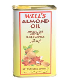 Well's Refined Almond Oil - 800 ml