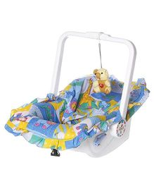 Dash Multipurpose 7 In 1 Baby Carry Cot With Mosquito Net - Blue