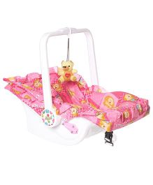 Dash Multipurpose 7 In 1 Baby Carry Cot With Mosquito Net - Pink