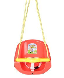 Dash Baby And Toddler Musical Swing With Light - Red