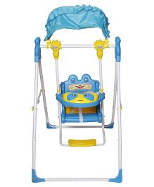 Dash Musical Deluxe Baby Garden Swing With Light - Blue