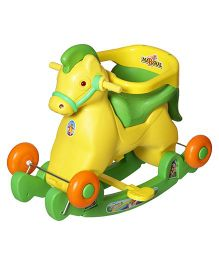 Dash Fashionable Marshal 2 In 1 Baby Horse Rocker 'N' Ride On - Green