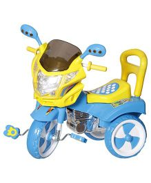 Dash Musical Tricycle With Light & Under Seat Storage Space - Blue