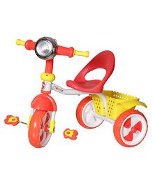 Dash Kids Tricycle With Lights & Music - Red
