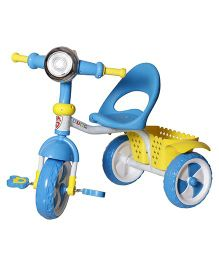 Dash Kids Tricycle With Lights & Music - Blue