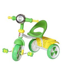 Dash Kids Tricycle With Lights & Music - Green