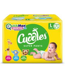Cuddles Pant Style Diapers Large - 20 Pieces
