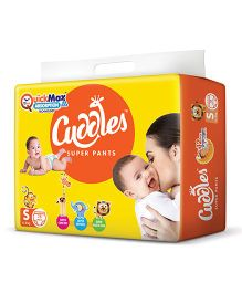 Cuddles Pant Style Diapers Small - 78 Pieces