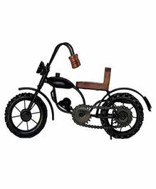 Desi Karigar Iron Bullet Bike Showpiece - Black