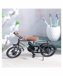 Desi Karigar Home Cycle Showpiece - Black