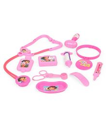 Dora Doctor Set Pink - 10 Pieces