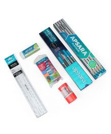 Apsara Scholar's Stationery Kit - 32 Pieces