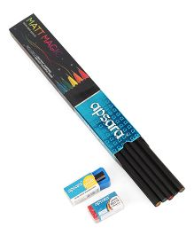 Apsara Mat Magic Pencils Black - Pack of 10
