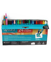 Apsara Wax Crayons Multicolour - 24 Pieces