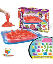 Toys Bhoomi Magic Sand Box - Red