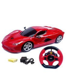 Zest 4 Toyz Steering Wheel Controlled Racing Speed Car - (Colors & Design May Vary)