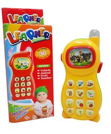 Zest 4 Toyz Mobile Phone Toy With Image Projection - (Colors May Vary)