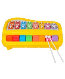 Zest 4 Toyz 2 In 1 Xylophone - Assorted Colours