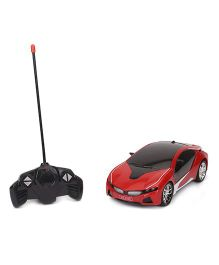 Dr. Toy Non Chargeable RC Car With 3D Light - Red