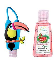Kleanse's Anti Bacterial Watermelon Hand Sanitizer With Bird Shape Holder - 30 ml