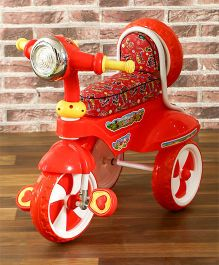 Dash Musical Scooter Design Tricycle - Red