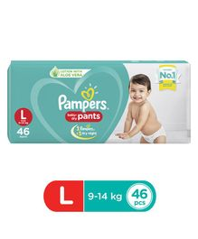 Pampers Pant Style Diapers Large Size - 46 Pieces
