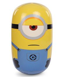 Minions Stuart Character Hit Me Tumbler Toy Yellow Blue - Height 60 cm