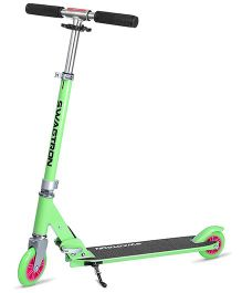 Swagtron Foldable K1 Kids Kick Scooter - Green