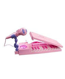 Toys Bhoomi 37 Keys Musical Electronic Keyboard - Pink