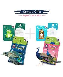 5D + Flashcards Educational Learning Toy Awarded By Educationist - Pack of 2
